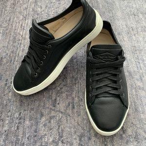 Rag and Bone Kent Black Leather Sneakers